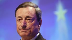 ECB President Mario Draghi said that euro zone banks continue to face some key challenges