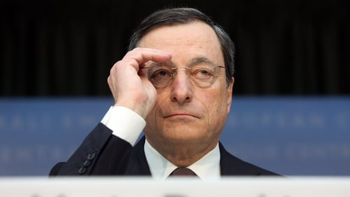 ECB President Mario Draghi keeps euro zone interest rates at record lows