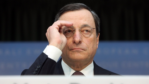 ECB President Mario Draghi announces more measures to help unblock lending in euro zone