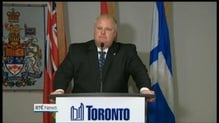 Toronto Mayor returns to work after rehab