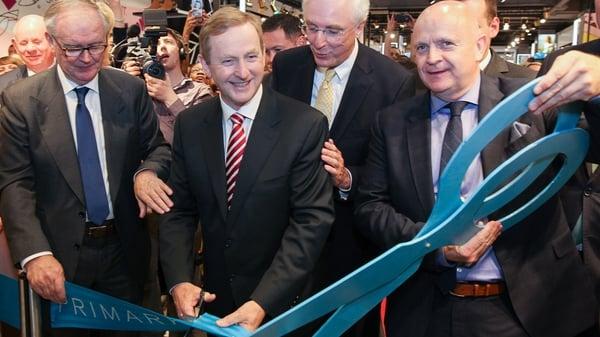 Taoiseach Enda Kenny opens new Primark store in Berlin