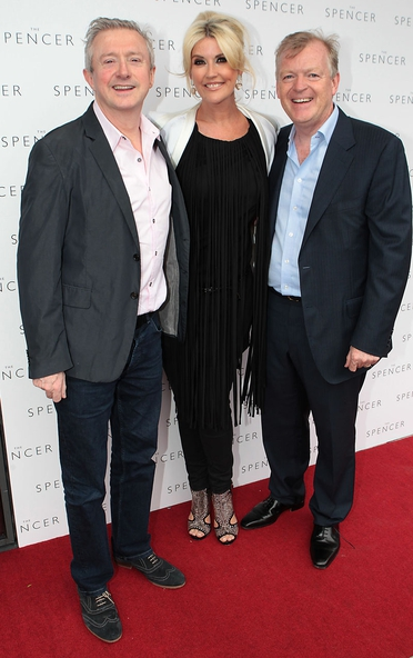 Louis Walsh, Lisa and Paul Fitzpatrick