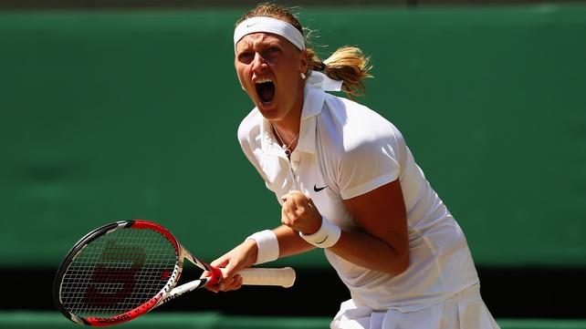 Petra Kvitova was too strong for her Czech compatriot Lucie Safarova