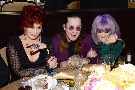 Family Time, Sharon, Ozzy and Kelly Osbourne