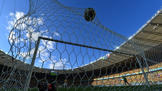 Belo Horizonte's Mineirao stadium was the venue for Brazil's clash with Chile