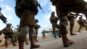 Israeli soldier numbers have been increased along Gaza Strip lines