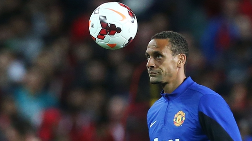 Rio Ferdinand made 455 appearances over 12 years at Manchester United