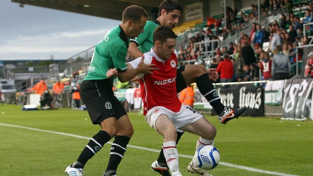 St Patrick's Athletic used the stadium for their European game against Hannover in 2012