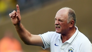 Luiz Felipe Scolari is reported to have said some of his team's critics can 'go to hell'
