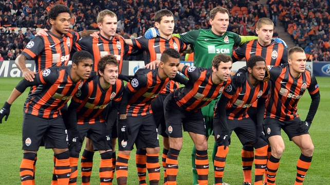 Shakhtar Donetsk look set to play their Champions League games away from the Donbass Arena