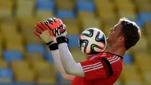 Germany's goalkeeper Manuel Neuer could be an effective midfielder, according to his coach