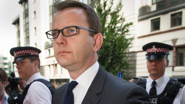 Andy Coulson was found guilty last week of conspiring to intercept voicemails
