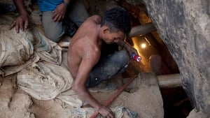 Eight of those who were trapped in the abandoned gold mine remain missing