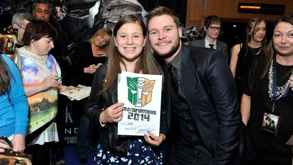 Jack Reynor at the Irish Premiere of Transformers: Age of Extinction