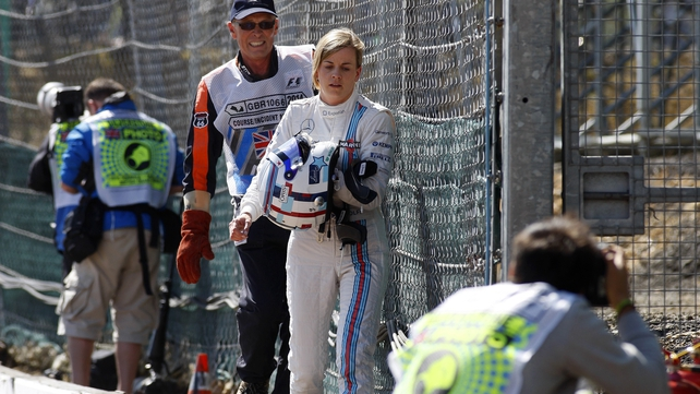 Susie Wolff will get a second chance to impress on the track at Hockenheim