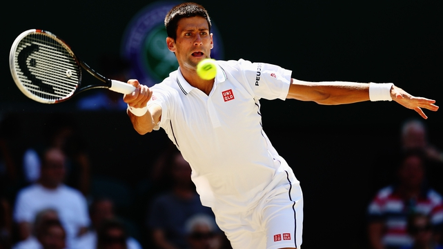 Novak Djokovic makes his third Wimbledon final in four years