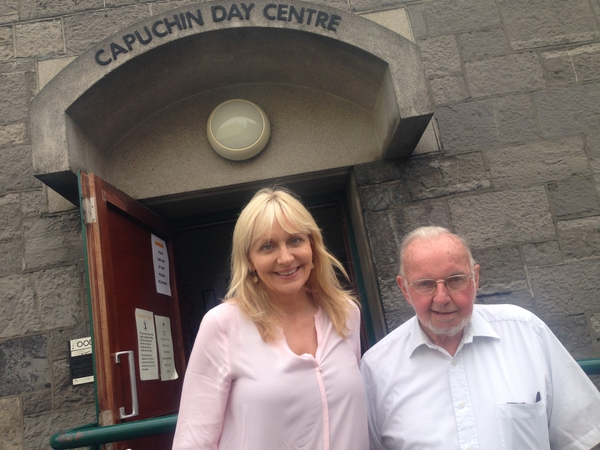 Miriam O'Callaghan and Brother Kevin Crowley