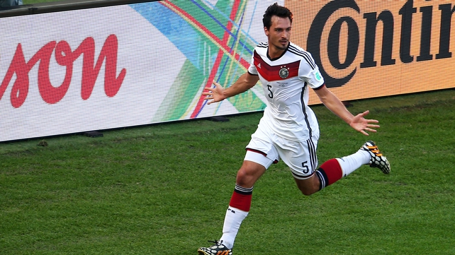 Mats Hummels was a World Cup winner with Germany