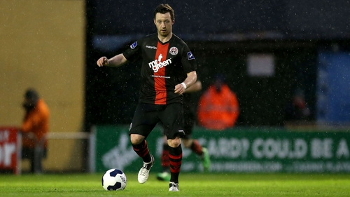 Paddy Kavanagh equalised for Bohemians