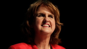 Joan Burton was this afternoon elected leader to succeed Eamon Gilmore