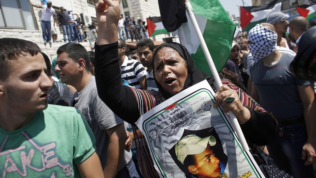 Palestinian youth was 'burned alive'