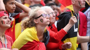 Belgium fans lamented their team's inability to find an equaliser midway through the second