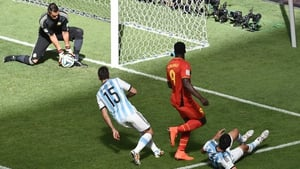 While Argentina's keeper Sergio Romero kept a clean sheet on the other end