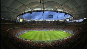 The Arena Fonta Nova set the stage in sticky Salvador