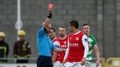 Two sent off as Hoops edge out St Pat's