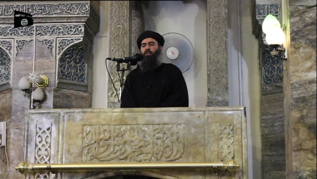 The video is the first ever official appearance by Abu Bakr al-Baghdadi