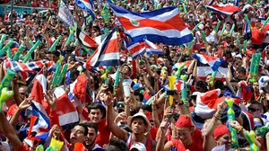 Remarkably, though, Costa Rica's defence kept the Ticos level with the Netherlands at 0-0, steering the match into a period of extra time