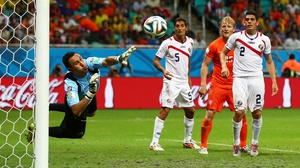 Navas was simply spectacular throughout the 30 minutes of extra time, keeping Costa Rica in it and securing his place as one of this World Cup's premier keepers - whether or not his side advanced