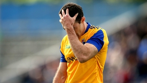 Longford's Paul Barden dejected after his team's tame loss to Tipperary in their football qualifier