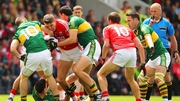 Action from the 2014 Munster final which Kerry won easily by 12 points