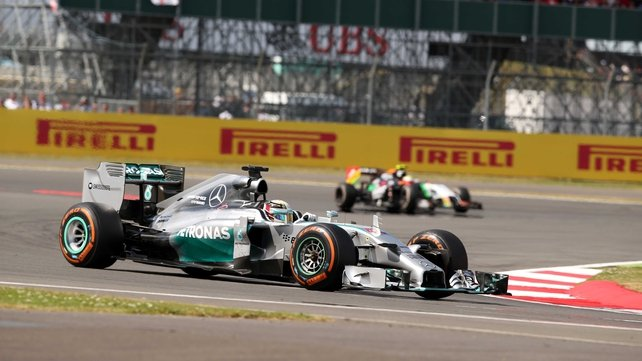 Lewis Hamilton recovered from a mistake in qualifying to take the race