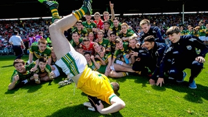 Back in the stadium, Kerry's minors celebrated victory over the home side