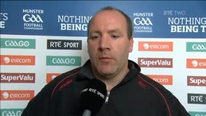 'We've let a lot of people down' was the immediate reaction of Cork manager Brian Cuthbert following the heavy loss to Kerry in the Munster final
