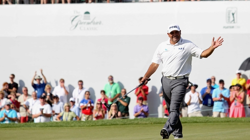 Angel Cabrera carded a final round 64 for victory