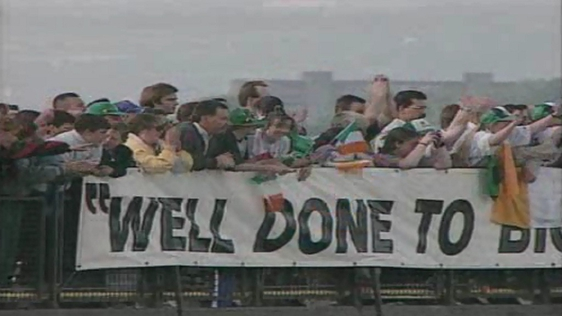 Irish Team Return (1994)