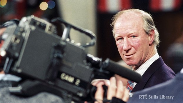 Jack Charlton at the 1994 World Cup Draw