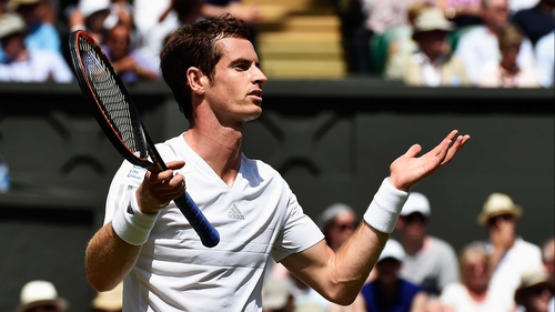 Andy Murray exited Wimbledon at the quarter-final stage