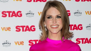 Amy Huberman has a novel way of celebrating Valentine's Day