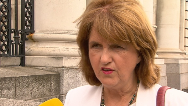 Joan Burton was elected leader of the Labour Party on Friday