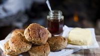 Honey Scones - Great with tea!