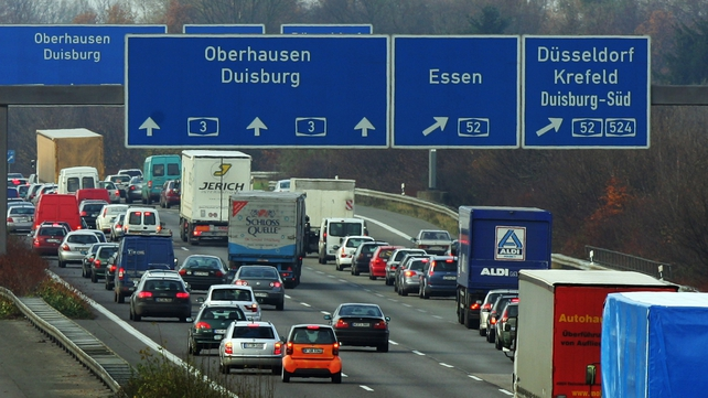 Drivers registered outside Germany are to pay about €10 for a 10-day badge and over €100 for an annual pass