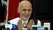 Under the terms Mr Ghani will share power with a chief executive proposed by Mr Abdullah