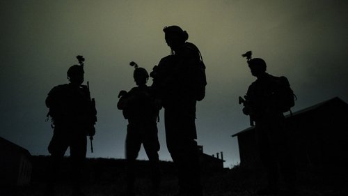 NATO soldiers on patrol in Parwan earlier this year