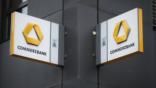 Germany's Commerzbank's net proft slumped 54% in the first quarter