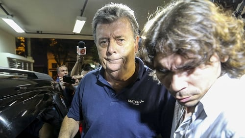 Ray Whelan (left) has been released from police custody in Rio de Janeiro