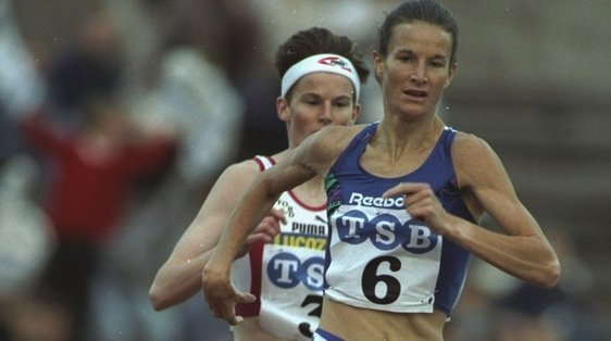 Sonia O'Sullivan Breaks 2000m World Record